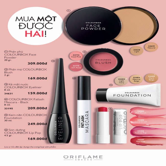 Catalogue Oriflame tháng 7 2020 97