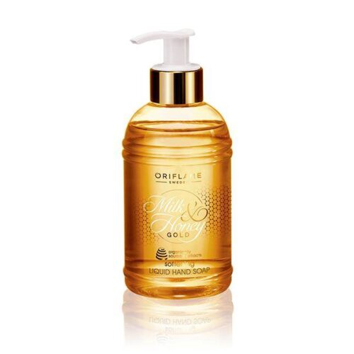 31603 oriflame - Nước rửa tay Oriflame Milk and Honey Gold Softening Liquid Hand Soap sữa và mật ong - 300ml