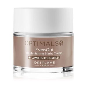 32480 oriflame - Kem dưỡng da trị nám ban đêm Oriflame Optimals Even Out Replenishing Night Cream