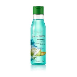 gel tắm oriflame Love Nature Shower Gel Invigorating Coconut Water & Melon 34087