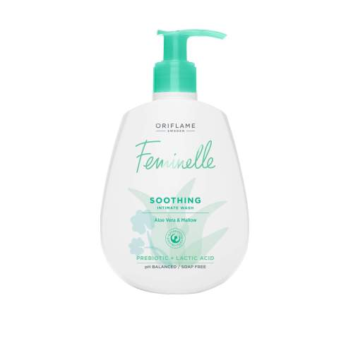 34499 oriflame - dung dịch vệ sinh phụ nữ oriflame feminelle Soothing Intimate Wash Aloe Vera & Mallow
