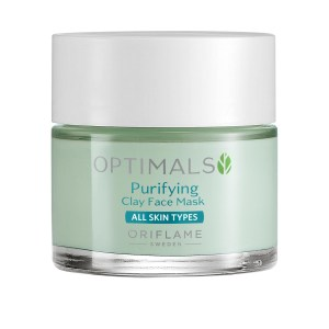 34008 oriflame mặt nạ đất sét oriflame optimals Purifying Clay Face Mask 50ml