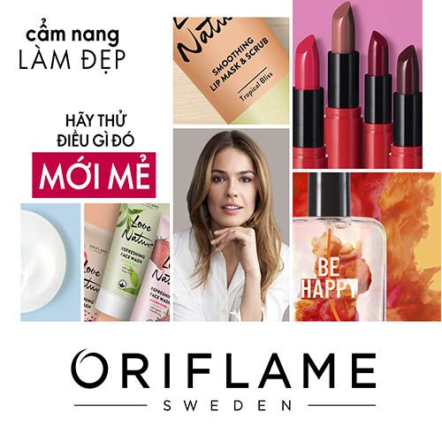 catalogue oriflame tháng 5 2021