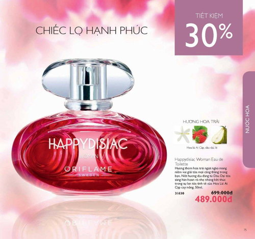 catalogue my pham oriflame thang 1 2017