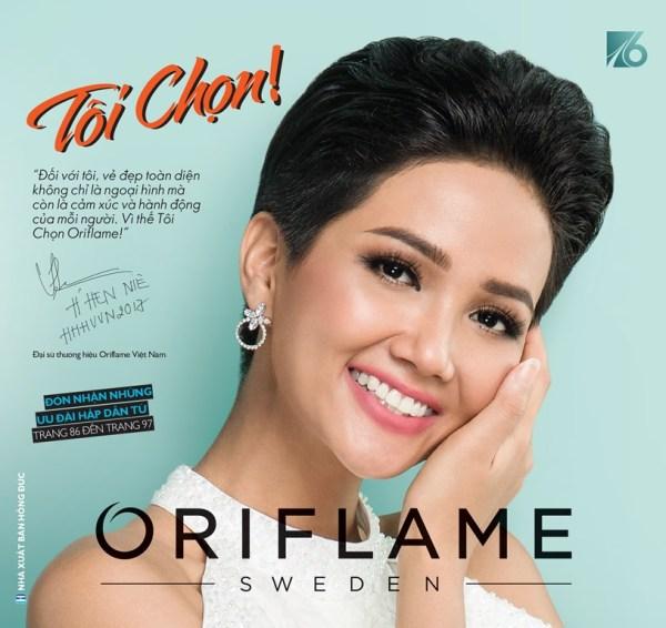 Catalogue mỹ phẩm Oriflame 8-2019