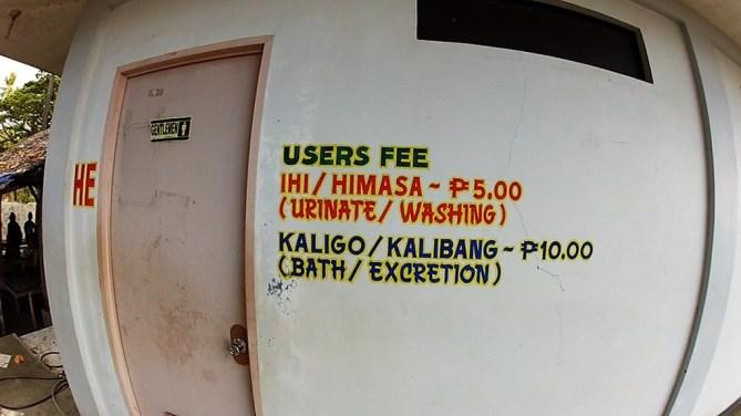 Apo Malatapay exretion and urination fee