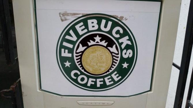 Food Fivebucks coffee machine