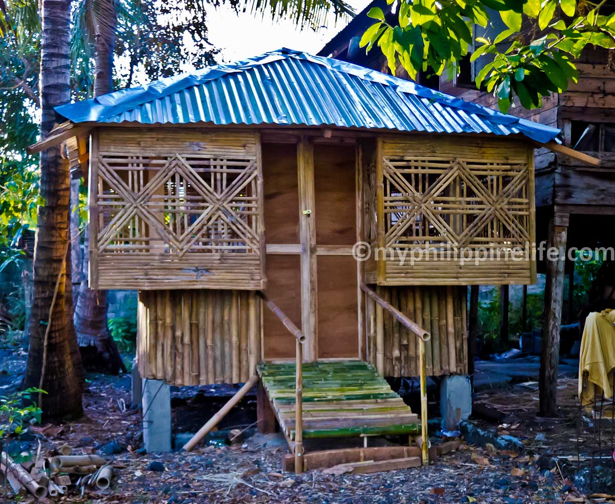 We Build A Bahay Kubo Bamboo Guest House My Philippine