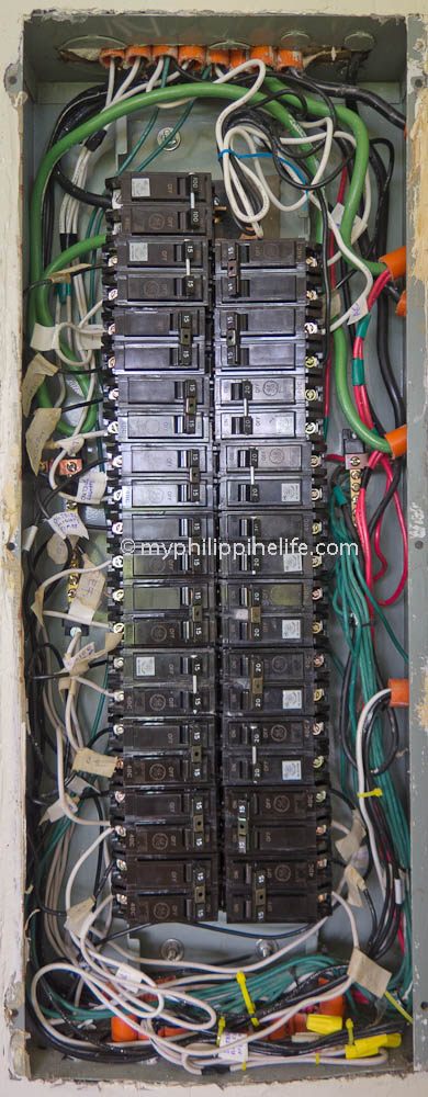 Panel Box Full on Circuit Breaker Panel Wiring Diagram