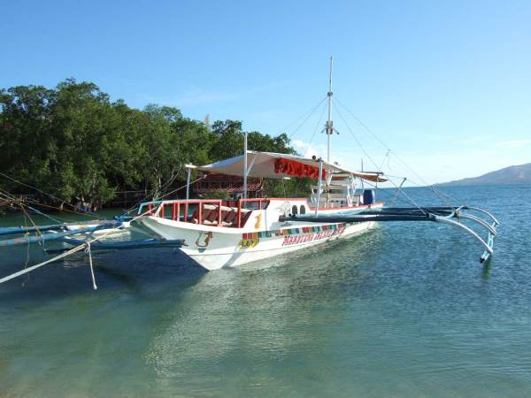 Marbuena Resort Pump Boat