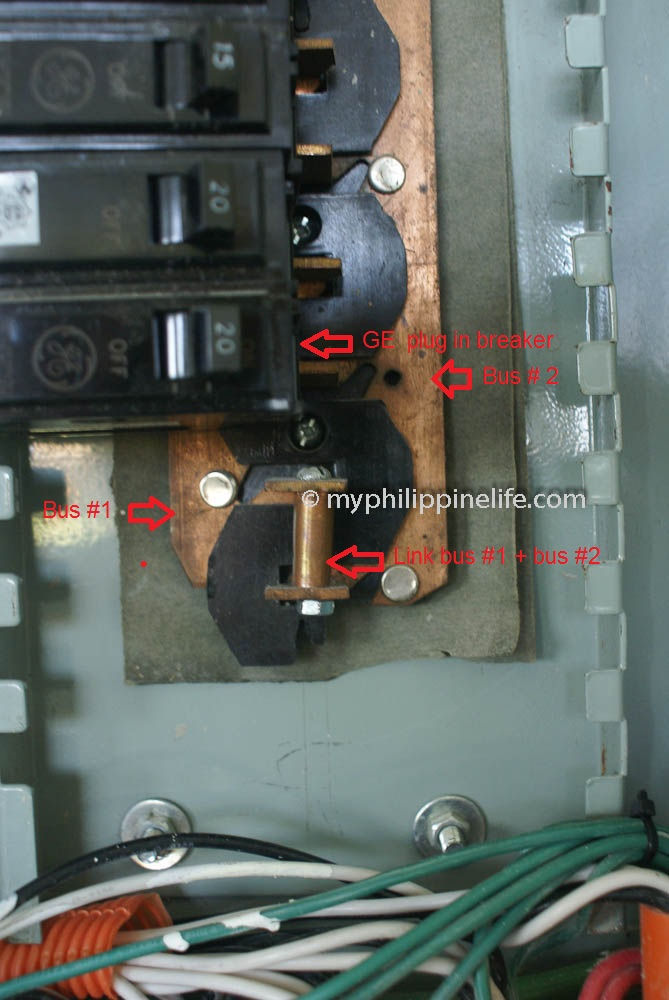 philippine electrical wiring building our philippine house my  panel breaker box wiring diagram philippine electrical #9