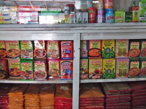 Indian groceries at Raja in Iloilo
