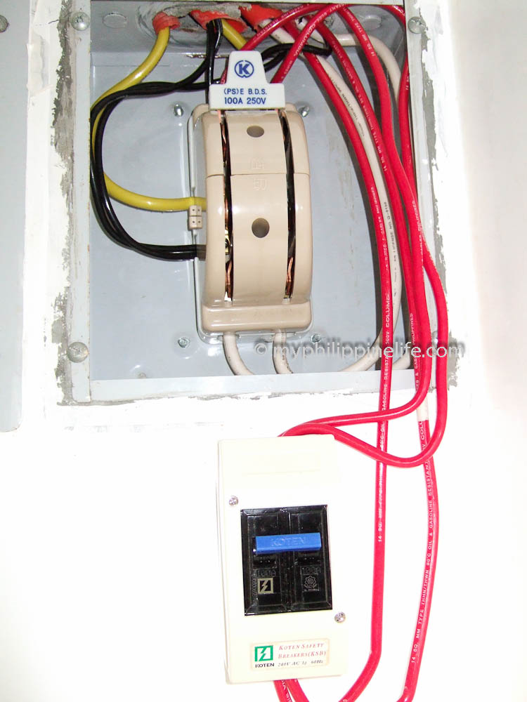 philippine electrical wiring building our philippine house my rh myphilippinelife com electrical wiring interconnection system pdf home wiring system pdf
