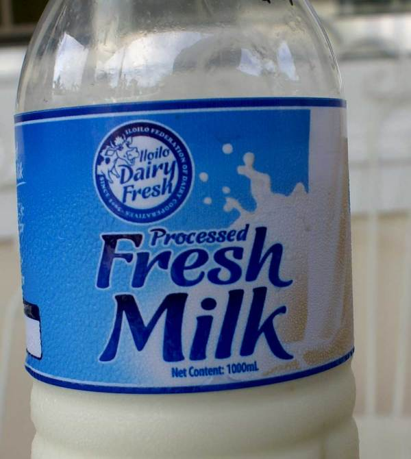 Tigbauan Milk Bottle