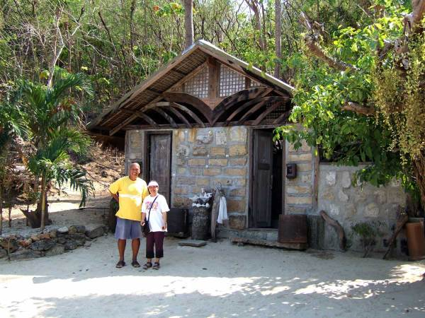 Carol and Noel, Isla Naburot Resort, Guimaras Island, Philippines