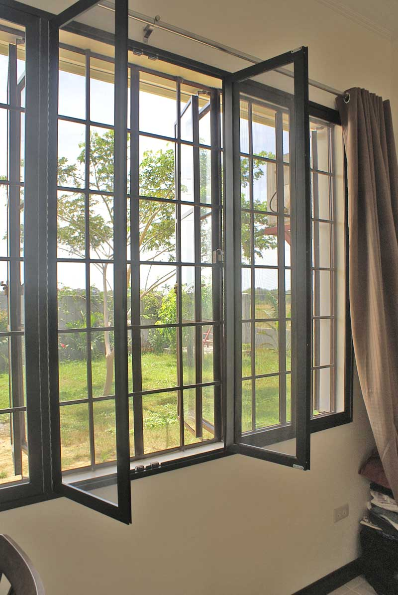 Our philippine house project window screens my for Window sizes for homes