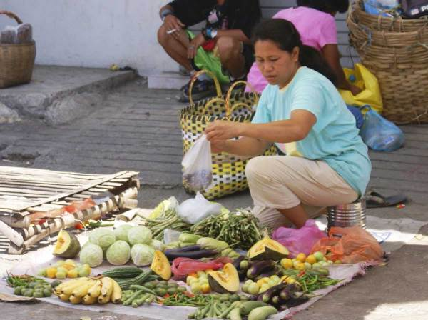 Vendor at Tigbauan, Iloilo Market