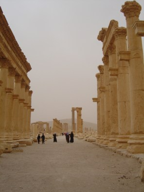 Palmyra in Syria on mycustardpie.com