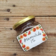 My friend's homemade marmalade in my kitchen - mycustardpie.com