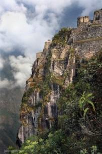 Inca Ruins in Huayna Picchu Mountain - Machu picchu - Peru