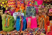 Hand-woven cotten bags
