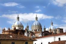 The New Cathedral (Inmaculada Concepción) Cuenca - Ecuador