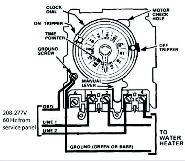 intermatic timer switch wiring diagram wiring diagram intermatic pool timer wiring solidfonts