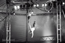 Performers at the Aero Dome