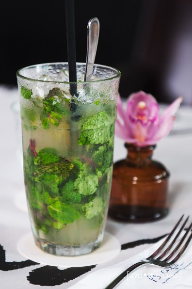 A refreshing Lime juice and mint leave, PS Cafe, Singapore