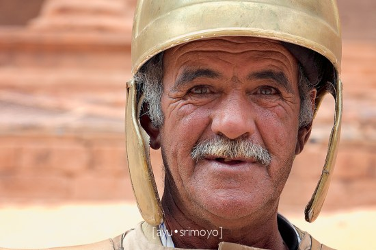 old soldier 1, Petra, Jordan