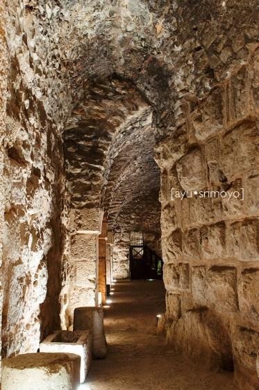 Corridors, Ajlun Castle