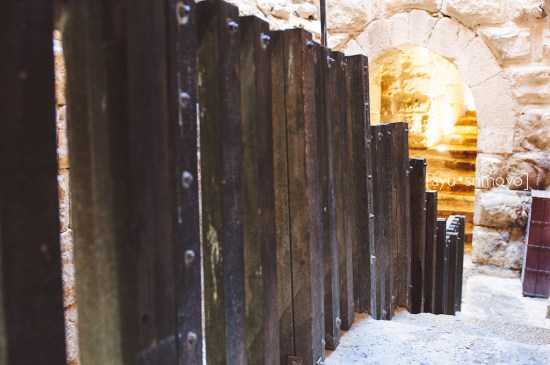 Staircase, Ajlun Castle