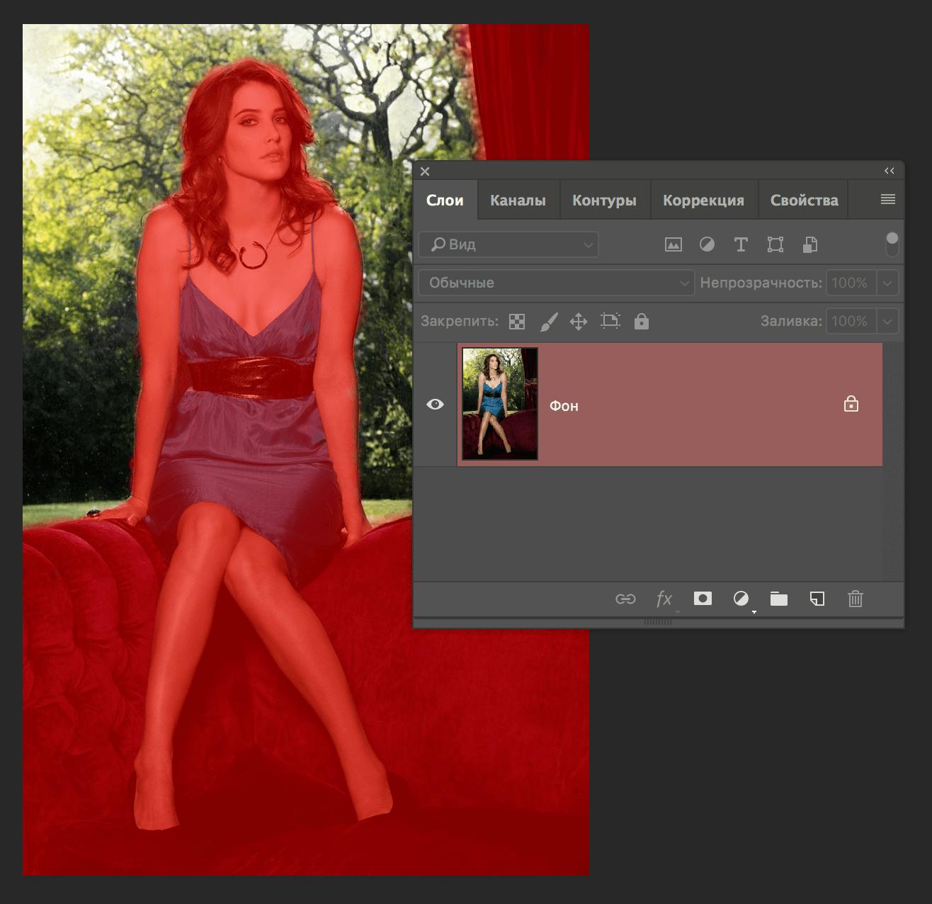 Rozostření pozadí na fotografiích ve Photoshopu