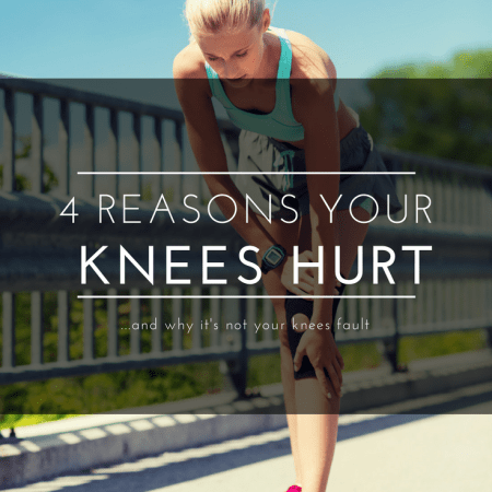 Runner with knee pain
