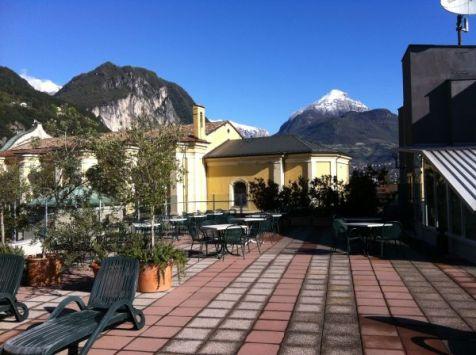 Dachterrasse Grand Hotel Riva