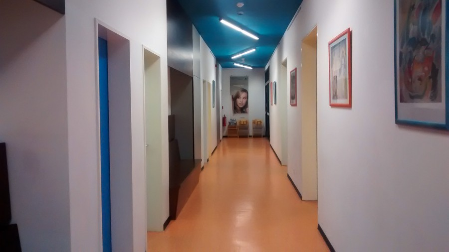 renovierte Jugendherberge in Dessau