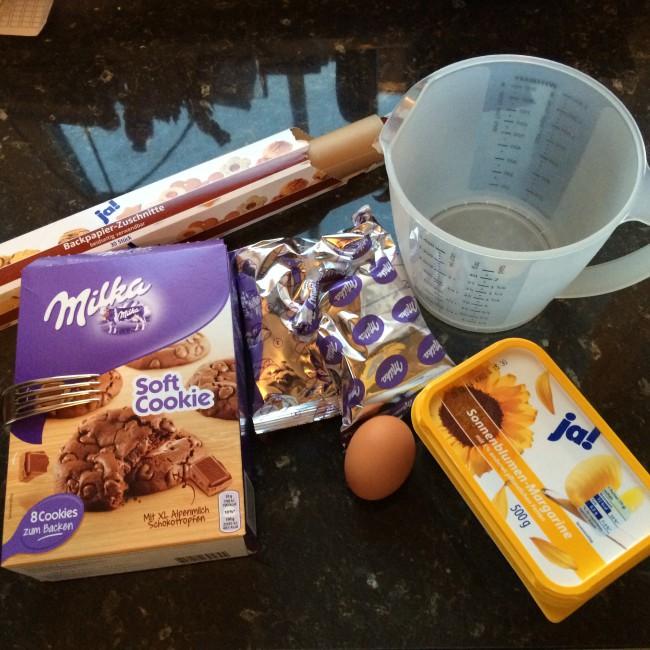 Backmischung Soft Cookies Milka