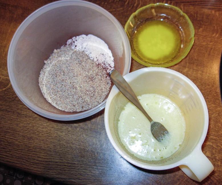 Zubereitung Black and White Cake Pops