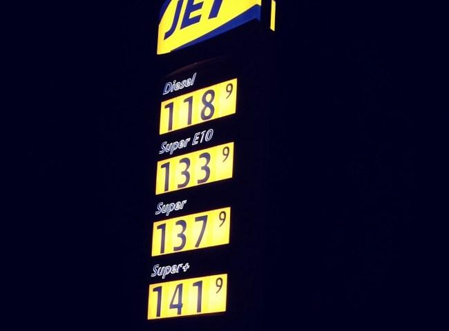 Aktuelle Spritpreise