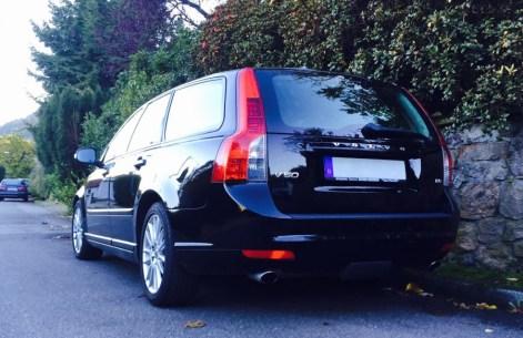 Volvo V50 Heck 2009