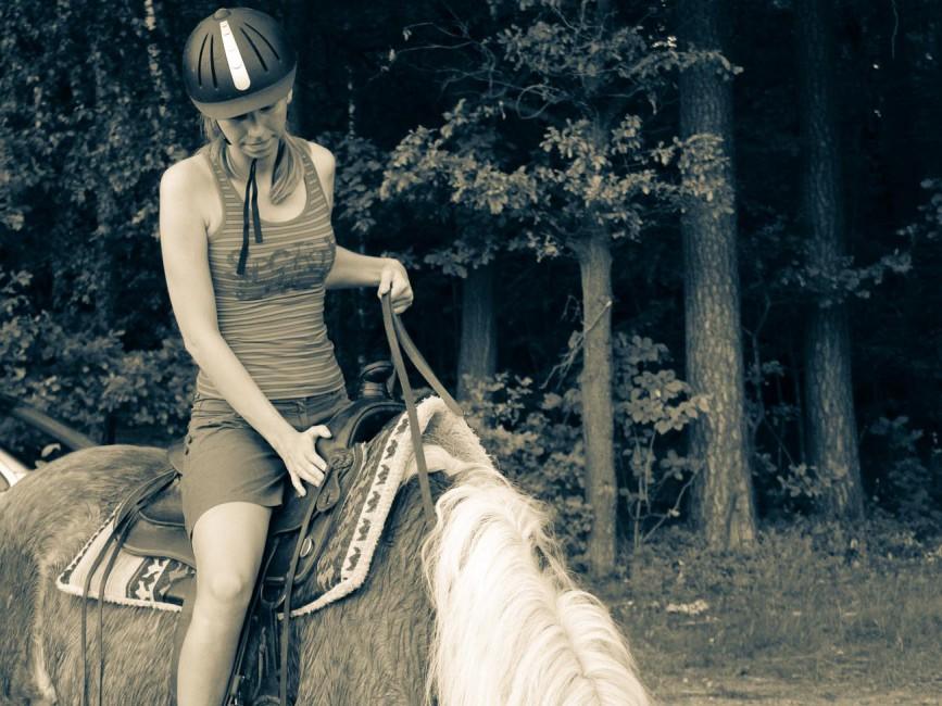 Me riding