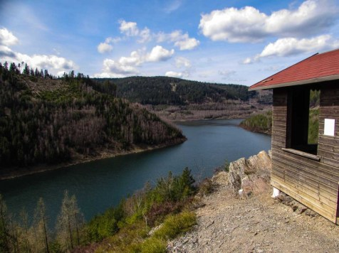 Stausee Thueringer Wald