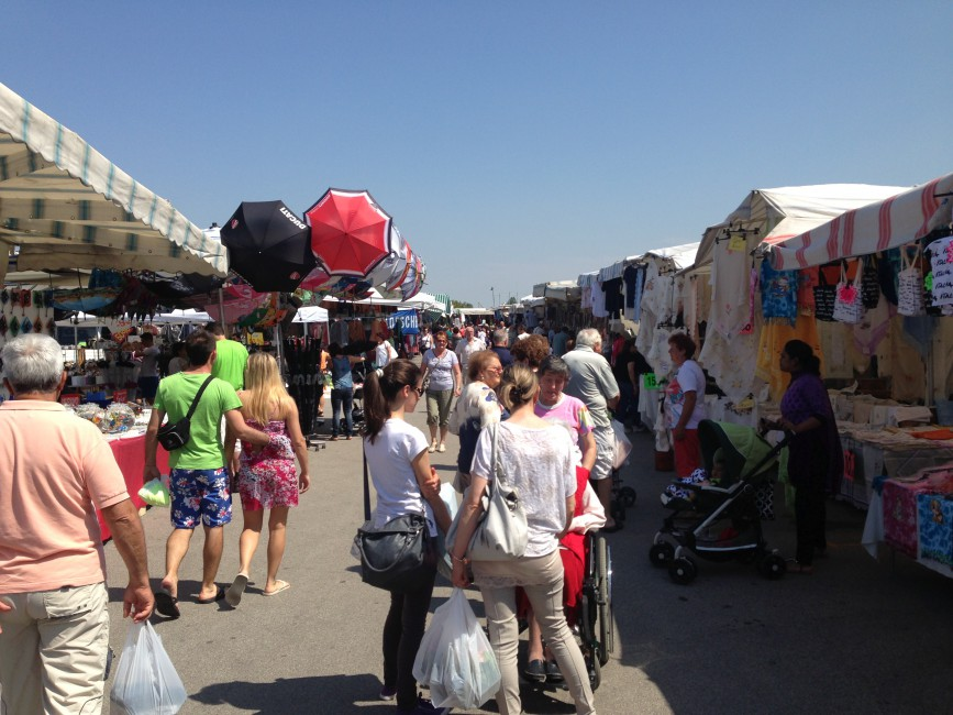 Markt für Touristen