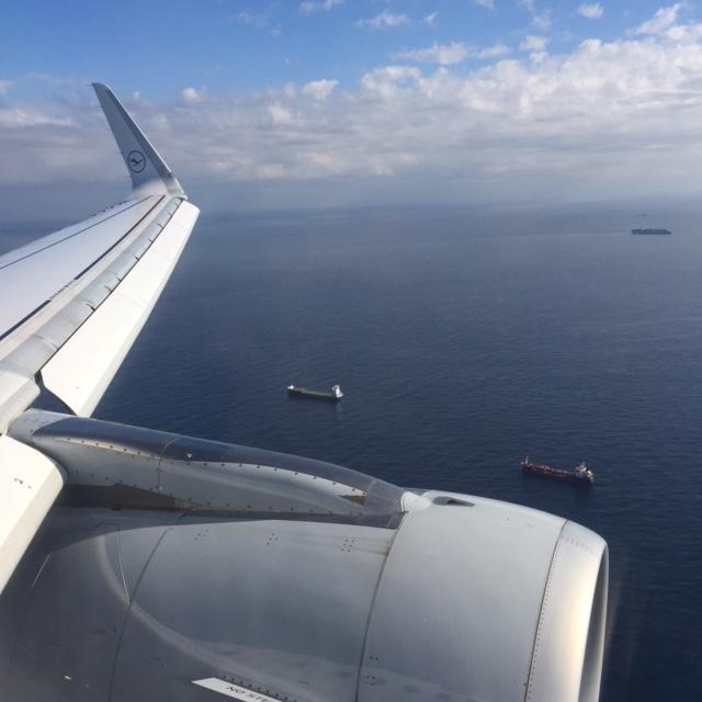 Abflug Lufthansa