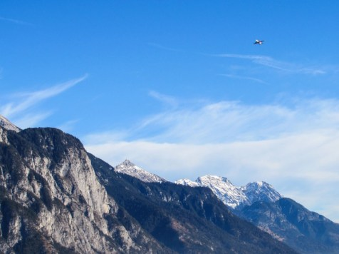 Flugzeug ueber Alpen (1 von 1)