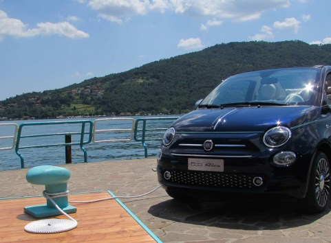 Fiat 500 Riva Front