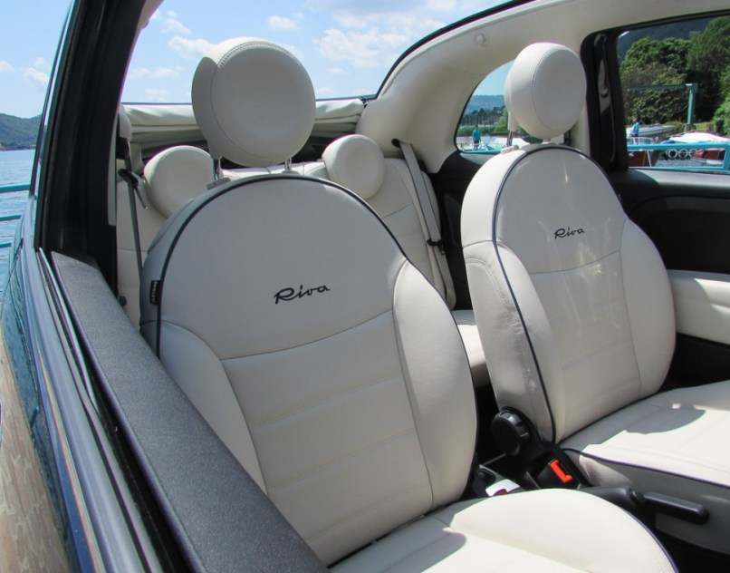 Fiat 500 Riva Sitze Leder