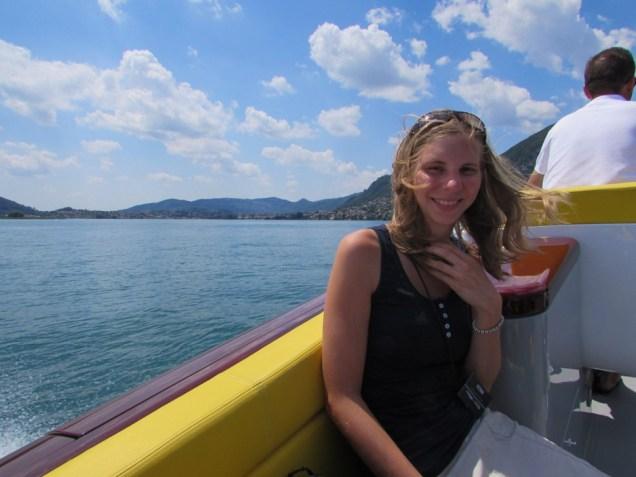 riva yacht fahrt
