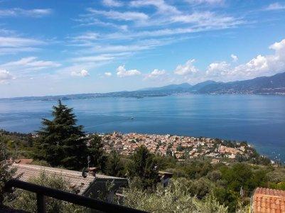 Panoramablick auf den Gardasee-1