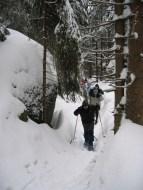 Schneeschuhwanderung Fichtelgebirge